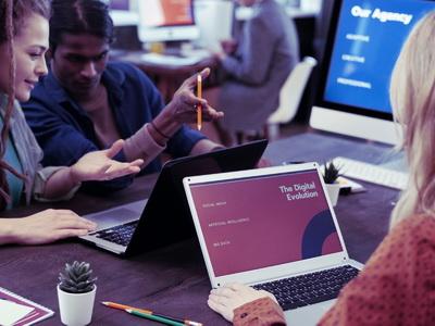 Kollaboration mit Team und Technik